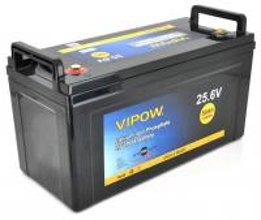 VIPOW LiFePO4 25.6V 50Ah 1280WH BMS 40A
