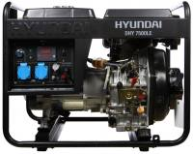 HYUNDAI DHY7500LEДизельный генератор Hyundai DHY7500LE
