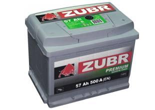 Zubr 6СТ-57 500А PREMIUM R+