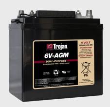 TROJAN 6V-AGMАккумуляторная батарея Trojan 6V-AGM