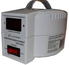 Luxeon AVR-500D whiteСтабилизатор напряжения LUXEON AVR-500D white