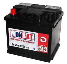 MONBAT 6СТ-50 550 70 02 MF L+