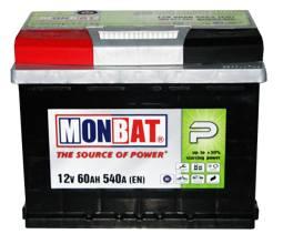 MONBAT 6СТ-60 560 70 02 SMF L+