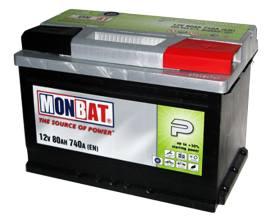 MONBAT 6СТ-80 580 70 04 SMF R+