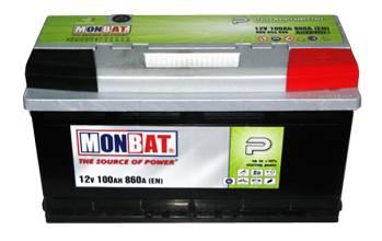 MONBAT 6СТ-100 600 70 04 SMF R+