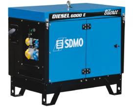 SDMO Diesel 6000 E AVR Silence