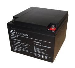 Luxeon LiFEPO4 12В 26АЧ HT12.8-26Аккумуляторная батарея Luxeon LiFEPO4 12В 26АЧ HT12.8-26
