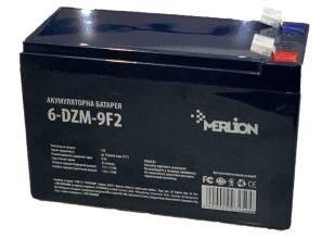 MERLION 6-DZM-9 12V 9Ah