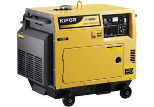 Kipor KDE6500TДизельная электростанция KIPOR KDE6500T