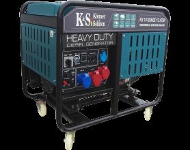 Konner&Sohnen KS 14100 HDE 1/3 ATSRДизельный генератор Konner&Sohnen KS 14100 HDE 1/3 ATSR