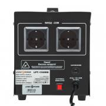 LogicPower LPT-1500RD BlackРелейный однофазный стабилизатор напряжения LogicPower LPT-1500RD Black