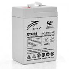 RITAR RT655Аккумуляторная батарея RITAR RT655