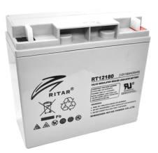 RITAR RT12180Аккумуляторная батарея RITAR RT12180