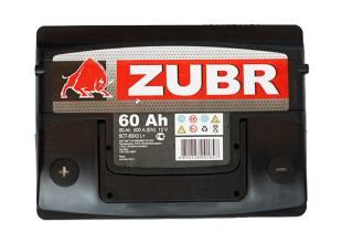 Zubr 6СТ-60 500А ULTRA L+