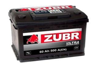 Zubr 6СТ-60 500А ULTRA R+