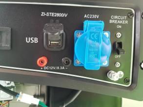 Zipper ZI-STE2800IVБензиновый генератор Zipper ZI-STE2800IV