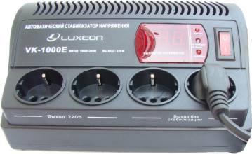 Luxeon VK-1000 EСтабилизатор напряжения LUXEON VK-1000 E