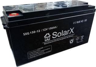 SolarX SXG150-12Аккумуляторная батарея SolarX SXG150-12