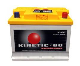 Kinetic 6СТ-60 480А M2 R+