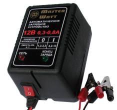 Master Watt АЗУ 0.3-0.8А 12В мото