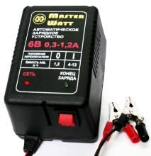 Master Watt АЗУ 0.3-1.2А 6В мото