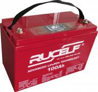 Rucelf LIP-12.8 100Ah BMS 30A/80A DISPLAYАккумуляторная батарея Rucelf LIP-12.8 100Ah BMS 30A/80A DISPLAY