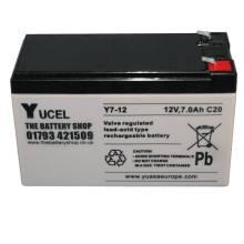 YUASA Y7-12Аккумуляторная батарея YUASA Y7-12