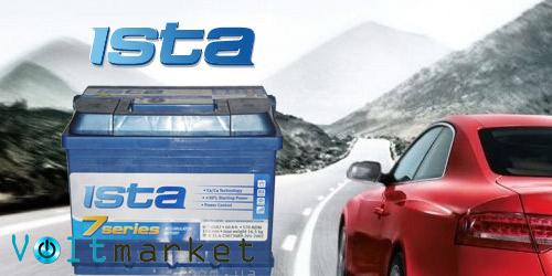 Стартерные автомобильные аккумуляторы ISTA