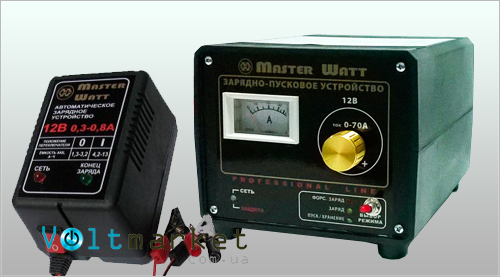 Зарядные устройства Master Watt